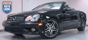 2009 Mercedes-Benz CLK-Class Grand Edition-AMG-CUIR-NAV-TOIT SOU