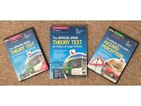 DVSA Large Vehicles Theory book/DVD and Hazard Perception