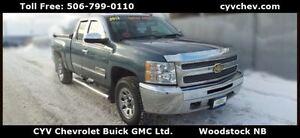2012 Chevrolet Silverado 1500 LS Ext Cab 4x4 V8 - $89/Week