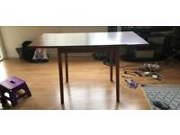 Antique wooden table (foldable)