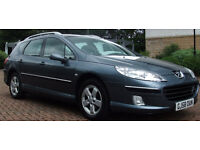 2008 '58' Peugeot 407 SW 2.0HDi 136 DIESEL ESTATE 6 SPEED - FINEST EXAMPLE