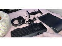 Havit full RGB gaming accessories set