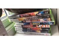 Xbox 360 games avengers, Harry Potter, spiderman