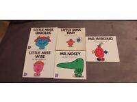 5 Roger Hargreaves childrens books