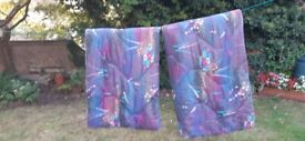 2 x Adult size duvet sleeping bags