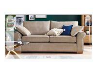 Next Garda 3 Seater Sofa In Light Mink Rrp 950