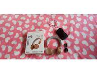 ji Wireless on-ear headphones Bluetooth, 3.5 mm jack, boxed, like new