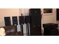 Tannoy speakers , sub etc