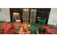 Used storage jars