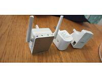 Three wifi repeaters
