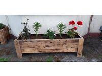 Custom made planters