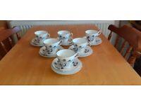 Vintage Regency Bone China Tea Set