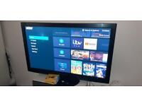 Panasonic 50inch tv with now tv stick smart
