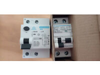 RCD / RCBO 20 or 40A Type A (+one type B RCD) FOR EV Chargers.