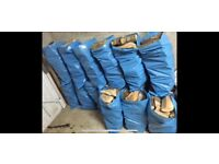 Seasoned Firewood Logs for Stoves, Wood Burners, Fire Pits,