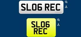 SL06 REC recovery SLOG private cherished personalised personal registration plate number
