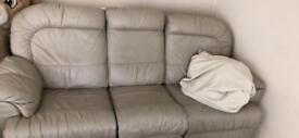 3+2 leather recliner sofa