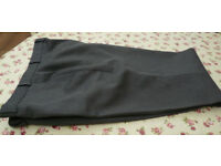 Mens grey trousers 38inch waist 31inch leg