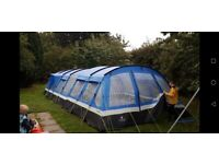 High gear oasis tent with large oasis frontier porch.