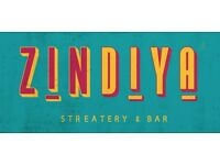Bar & Waiting Staff Required for Indian Streatery & Bar