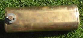 Long Range Brass Fuel Tank for British Seagull Outboard Engine / Motor for Dinghy Boat Tender