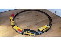 Catering construction express train set batteries operated