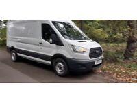 Ford transit lwb hr full mot VERY CLEAN VAN £9595ono