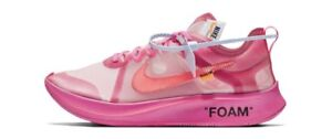 Size 13 Nike X Off white pink brand new