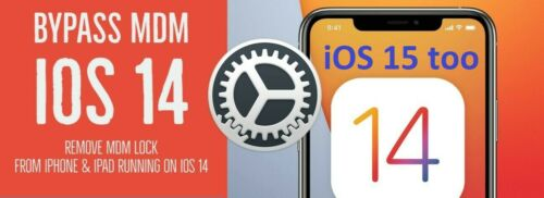 🎇 iOS 14 - 15 APPLE IPHONE MDM BYPASS, UNLOCK REMOTE PROFILE REMOVE - INSTANT