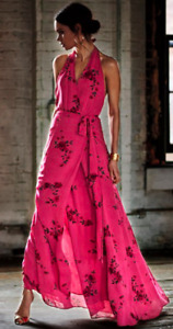 Pink cocktail maxi dress **Perfect for weddings**