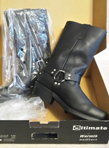 Never Worn!!! Men's Cruiser Motorcycle boots  - size 11