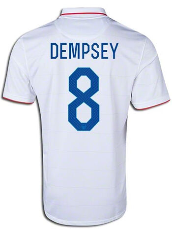 47500404e ... USA Clint Dempsey 8 Youth Away Soccer Jersey Clint Dempsey currently  plays forward for the Seattle Sounders FC