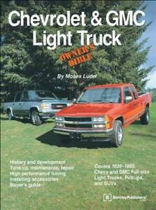 Chevrolet and GMC Light Truck Owners Bible By Moses Ludel Blacktown Blacktown Area Preview