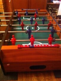 Table Football as New Fully Working Condition including Table Mats and Balls