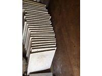 Riven grey patio slabs new 27 slabs