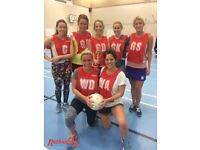 Play Netball in Clapham