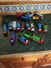 Thomas the Tank track with 12 engines