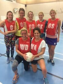 Clapham South Social Netball League