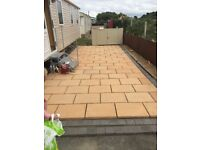 30 square metres of paving slabs delivered in Northern Ireland