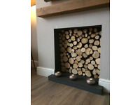 DECORATIVE DISPLAY FIREWOOD LOGS - traditiional rustic specially selected logs for home displays