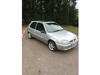 2002 Citroen Saxo 1.1 petrol, Ideal First Car, Only 77k miles with Service History Cheap to run etc