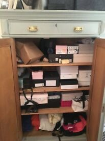 SHELVING STORAGE CUPBOARD (GORGEOUS GREEN) - GREAT CONDITION - £350 ONO