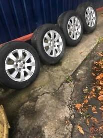 15 inch vauxhall alloy wheels