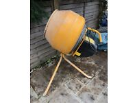 Cement Mixer for sale, great condition only used once for small extension. £150 ONO BARGIN! !!!