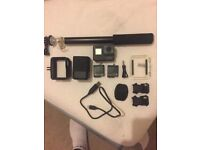 Go pro full set with accessories