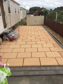 30m2 of paving slabs delivered in Northern Ireland