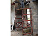 Fibreglass scaffold tower up to 6mtrs in height