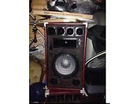 Pa speakers x2