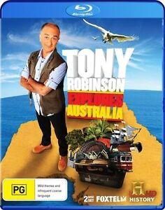 Tony Robinson Explores Australia (Blu-ray, 2011, 2-Disc Set) New Sealed Region B
