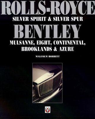 ROLL ROYCE BENTLEY BOOK BOBBITT SILVER SPIRIT SPUR TURBO R